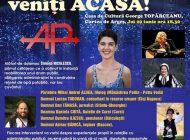 EVENIMENT UNIC la Curtea de Argeş: ATITUDINEA PUBLICĂ urcă pe scenă si CHEAMĂ ROMÂNII ACASĂ