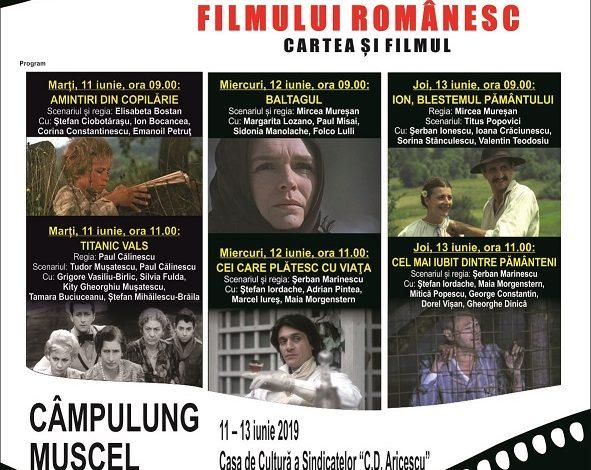 Caravana filmului românesc ajunge la Câmpulung VEZI PROGRAMUL