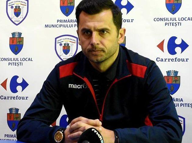 Nicolae Dica a plecat de la FC Arges! Cine e noul antrenor al alb violetilor