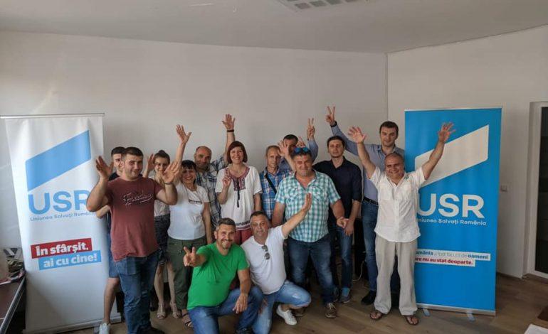 USR se pregăteşte intens de alegeri: s-a înfiinţat filiala Băiculeşti a partidului