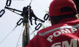 ACUM! Argeșean electrocutat pe stâlp