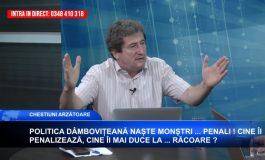 VIDEO - CARTIANU, dezănţuit la televiziunea argeşenilor:PSD-ule, uită-te-n oglindă: tu ești monstrul din Caracal!