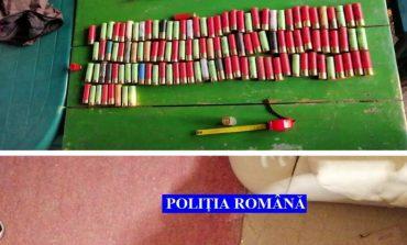 Percheziții la braconieri - Armă de vanatoare confiscată