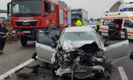 ACUM! Accident mortal pe autostrada Pitești - București