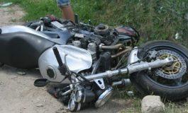 ACUM! Accident cu motocicleta la Arefu