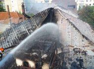 VIDEO - IMAGINILE DEZASTRULUI de la restaurantul Old House din Curtea de Arges - Flăcările au făcut prăpăd