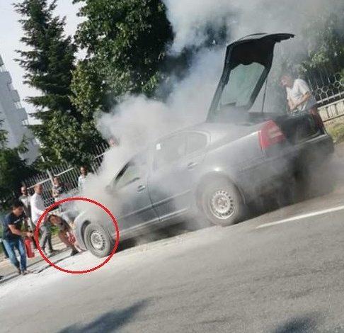 NE MÂNDRIM CU EL ! Un pompier argeşean cu prezența de spirit a limitat efectele unui incendiu