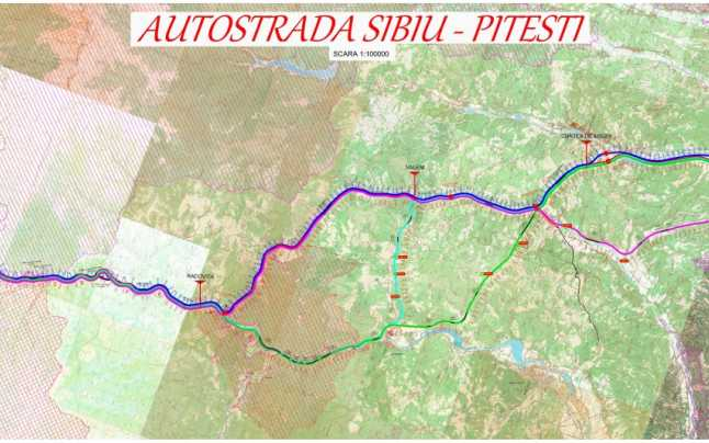 OFICIAL, 2 LEI/MP! CU MARE SCANDAL, începe operațiunea de expropriere pentru Autostrada Piteşti – Sibiu