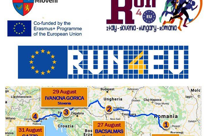 Duminică, 25 august, start în crosul internațional RUN4EU de la Mioveni