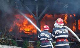 ACUM! Incendiu la Valea Iașului