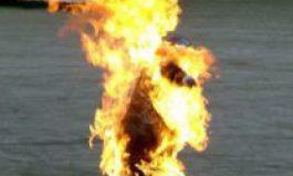 ALERTĂ ! Un argeşean anunţă că îşi dă foc în faţa primăriei Curtea de Argeş, in semn de protest fată de abuzurile primăriei