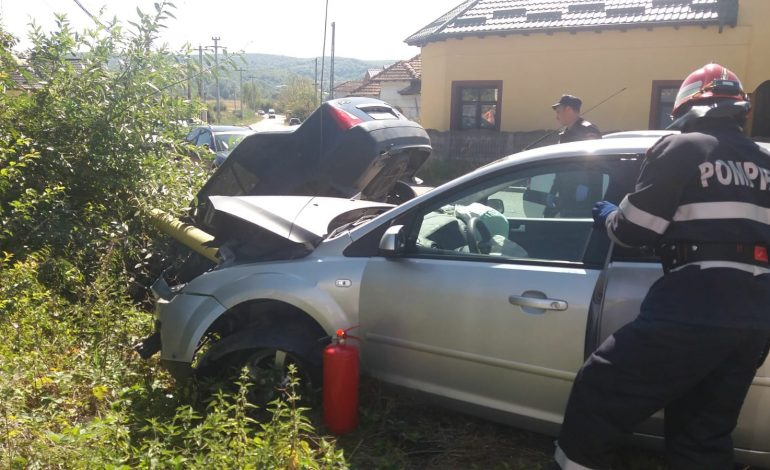 Accident spectaculos in Arges