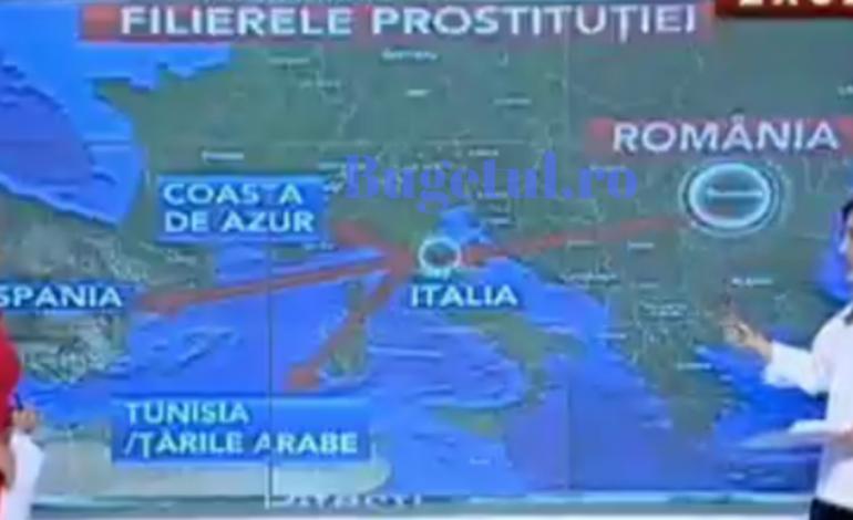 Harta rețelei de proxenetism din care ar face parte Dincă! Cum acționau traficanții de carne vie