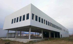 Ceea ce mai ramasese din fosta fabrica GDM de la Baiculesti a fost demolat saptamana trecuta pentru a face loc noii fabrici ELEMASTE