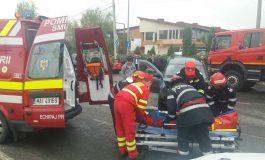 ACCIDENT cu un AUDI lângă LIDL Mioveni