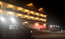 ALERTA , AZI NOAPTE ! Incendiu  la complexul Casa Lazaroiu