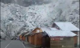 Video! A nins în Argeș - Prima ninsoare pe Transfăgărășan