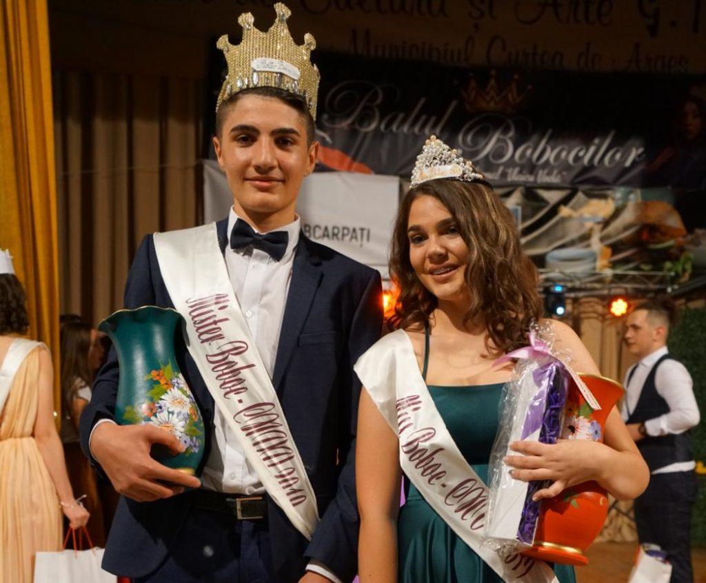 Miss și Mister Boboc: Iulia Uță și Alexandru Atanasescu